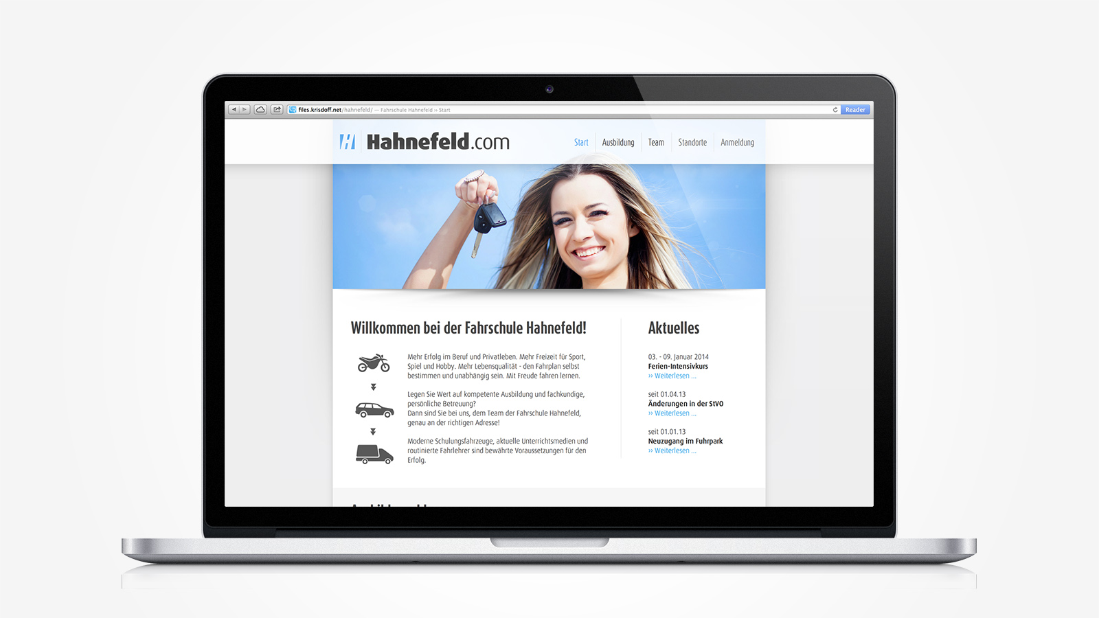 hahnefeld-com-website